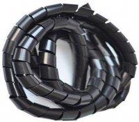 Svazkovací spirála 20-70mm,pr.=12mm/bal.10m černá