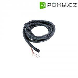 Chránič kabelu, Ø 10,4/14,5 mm, 2 m, černá