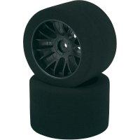 Silniční kolo pěnové Reely, 45 mm, Y paprsky, 12 mm 6-hran, 1:10, černá, 2 ks