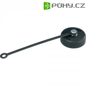 CPC víčko ke kruhovým konektorům TE Connectivity 206903-2, 9,14 x 23,55 mm, černá