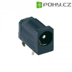 Napájecí konektor Lumberg 1613 20, Rozpínač, zásuvka vestavná horizontální, 4,5/4,5 mm