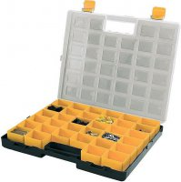 Krabička na součástky 372x314x40mm 34 vyjímatelných sekcí