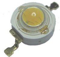 LED 5W bílá,340lm/1,4A,120° 4V 7,9x5,4mm