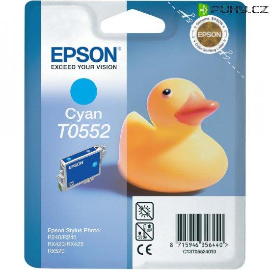 Cartridge do tiskárny Epson T0552, C13T05524010, cyanová - Kliknutím na obrázek zavřete