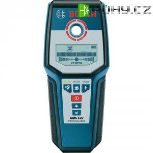 Detektor kovu, elektrického vedení a trámů, Bosch GMS 120