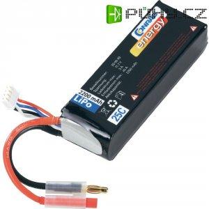 Akupack Li-Pol (modelářství) Conrad energy, 11.1 V, 2200 mAh, 25 C, 4 mm