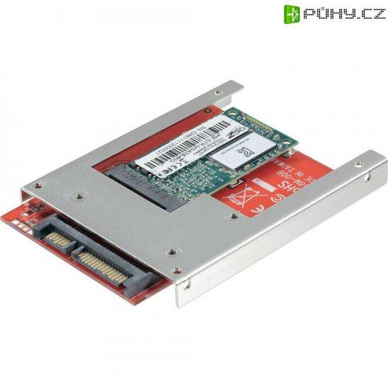 Konvertor SATA/Mini SATA (Mini-SSD) 6,4cm (2,5\'\') - Kliknutím na obrázek zavřete