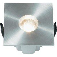 Vestavné LED svítidlo Avila DE-221F-1, 2,5 W, stříbrná/šedá/hliník