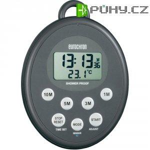 Vodotěsný digitální DCF časovač EDT 300 Eurochron, C 5084, 99 x 131 x 20 mm