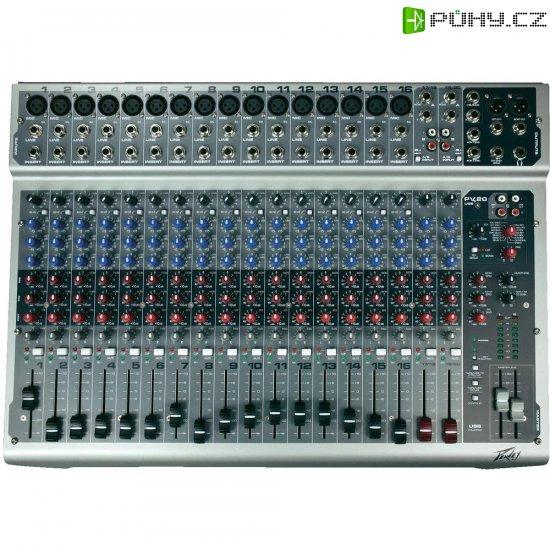 USB mixážní pult Peavey PV 20 - Kliknutím na obrázek zavřete