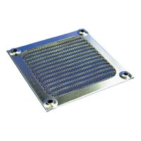 Hliníkový filtr ventilátoru MFF Richco MFF-80, 71.4 x 83.8 x 3.75 mm