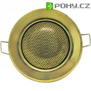 Vestavný reproduktor s designem halogenky, 8 Ω, 1,5/3 W, zlatá