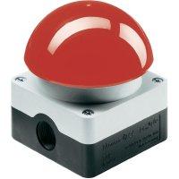 Nožní spínač bez aretace Eaton FAK-R/KC11/I, 230 V/AC, 6 A, červená, světle šedá (RAL 7035), 1x vyp/(zap)