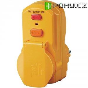Bezpečnostní mezizásuvka Brennenstuhl PD 331-7-2, IP54, 30 mA, žlutá