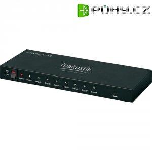 HDMI spliter, 1x vstup, 8x výstup, Inakustik