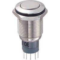 Tlačítkový spínač antivandal TRU Components LAS2GQF-11Z/N/P, 250 V/AC, 3 A, 1 ks