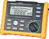 Měřič izolačního odporu HYELEC MS5203 /1000V/