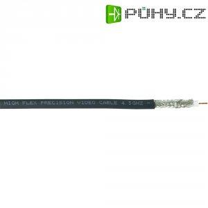 Koaxiální kabel Belden 1694A-SW, 75 Ω, 1,0/4,6 mm, RG6/U, stíněný, 1 m, černá