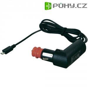 Nabíjecí kabel do autozásuvky ProCar, 67303101, microUSB, 12 V ⇔ 5 V/24 V ⇔ 5 V, 1 A
