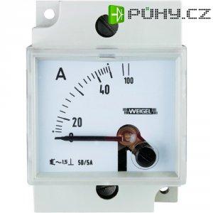 Panelové měřidlo elektromagnetické na DIN Weigel W35C 250/5 A