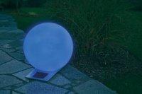 Solární svítící koule Esotec, Trendy 40 cm