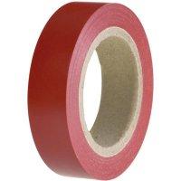 Izolační páska HellermannTyton HelaTapeFlex 15, 710-00101, 15 mm x 10 m, červená