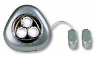 VELAMP Bodové světlo 3 LED s magnetickým spínačem IL16
