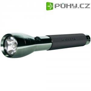 Kapesní LED svítilna Varta Active Outdoor, 4 W, stříbrná