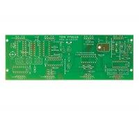 Plošný spoj pro stavebnici PT011B CMOS digitální hodiny s volitelnými LED displeji