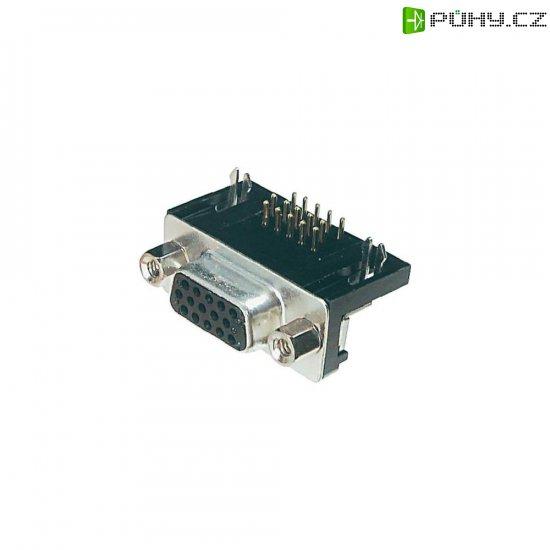 D-SUB zdířková lišta Assmann A-HDF 15 A-KG/T, 15 pin - Kliknutím na obrázek zavřete
