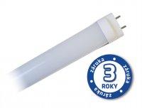 LED zářivka lineární T8, 18W, 4000-4500K, 120cm, mléčná + startér LZ03