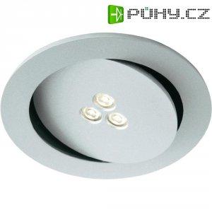 Vestavné LED osvětlení Philips Sculptor, 7,5 W, stříbrná/šedá/hliník (579624816)