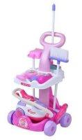 Dětský úklidový vozík s vysavačem