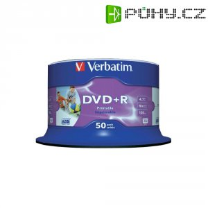 Verbatim DVD+R 4,7GB 16X 50 ks SP PRINT