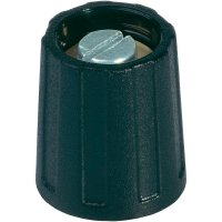 Otočný knoflík bez ukazatele (Ø 10 mm) OKW, 4 mm, šedá