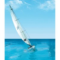 RC model plachetnice T2M Sea-Cret, 914 x 170 x 1850 mm, stavebnice