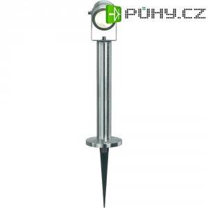 Venkovní sloupové LED svítidlo Sygonix Livorno, 3x 1 W, stříbrná/šedá