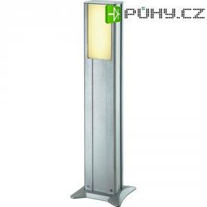 Venkovní sloupové svítidlo IVT Powerline, 80 cm, stříbrná