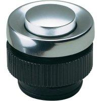Zvonkové tlačítko Grothe Protact 62045, max. 24 V/1,5 A, hliník
