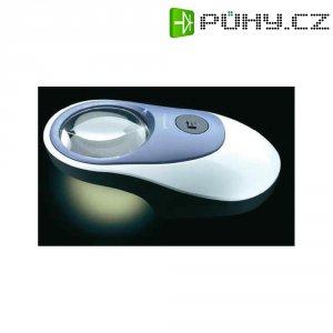 Lupa s LED osvětlením Eschenbach Powerlux 158620, 58 mm, 5x