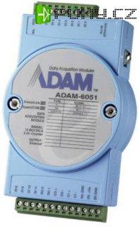 I/O modul Advantech, ADAM-6051, 10 - 30 V/DC, 16kanálový, digitální