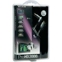 HDMI Belkin High Speed kabel ProHD2000 3D s ethernetem, pozl. kontakty, 1 m
