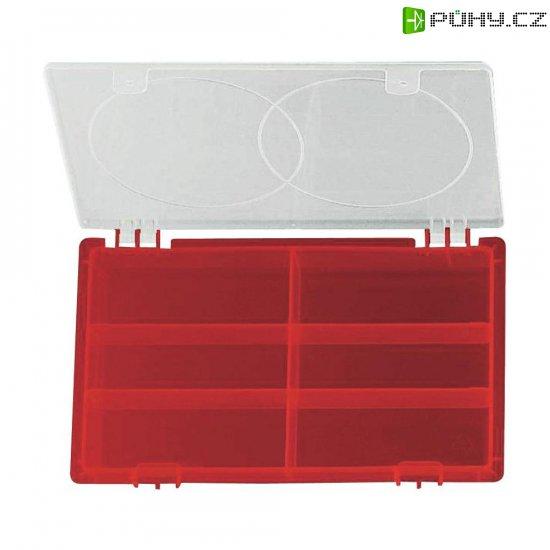 Organizér na drobné nářadí Alutec 523/Rot, 229 x 132 x 30 mm - Kliknutím na obrázek zavřete