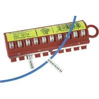 Náhradní role kabelového značení 3M Scotchcode 80-6114-2802-2, bílá/černá, 3 role
