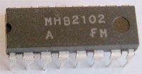 MHB2102 - MNOS RAM 1024bit, DIP16