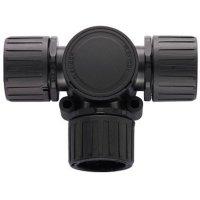 HellermannTyton HG16-T 166-24800, 16 mm, 16 mm, 16 mm, černá, 1 ks