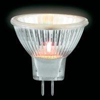 Halogenová žárovka Sygonix, 12 V, 20 W, G4, Ø 35 mm, stmívatelná, teplá bílá, 3 ks