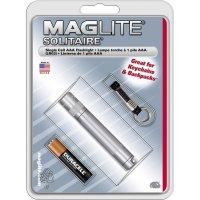 Kapesní svítilna Mag-Lite Solitaire, K3A096, 1,5 V, kryptonová, červená