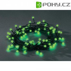 Venkovní vánoční řetěz Konstsmide, zelený, 80 LED