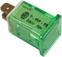 Kontrolka 230V ISZ s doutnavkou, zelená